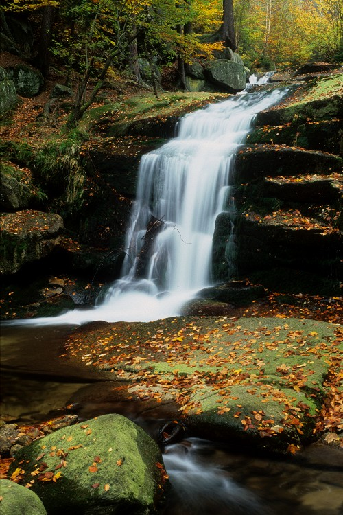 Myja Cascade in Fall